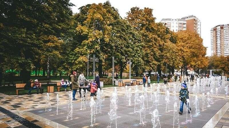 Сергей Сергей Собянин открыл Парк имени Святослава Федорова в Москве после благоустройства после благоустройства