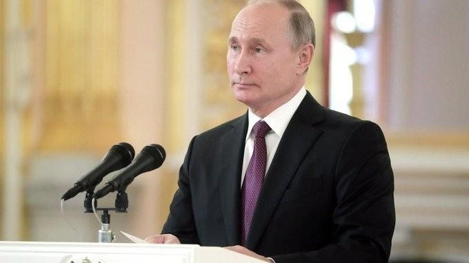 Владимир Путин принял верительные грамоты у послов ряда новых иностранных государств