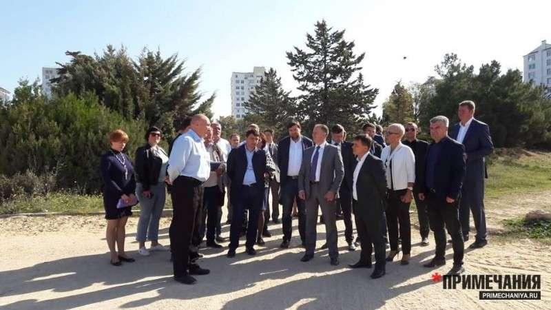 В Севастополе надругались над Парком Победы