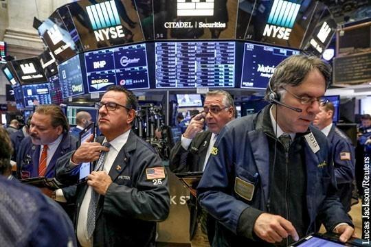 Обвал ценных бумаг в США может сыграть на руку России