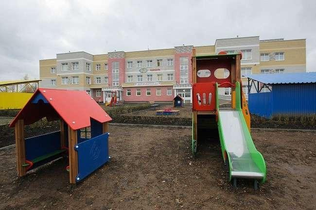 В г.Невьянск (Свердловская обл.) построен новый детский сад на300 мест