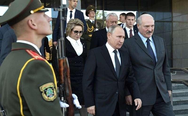 Поокончании пленарного заседания Пятого форума регионов России иБелоруссии.