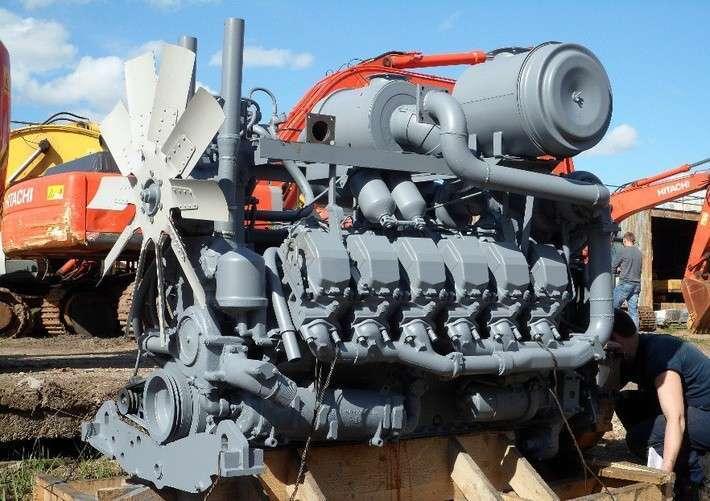 Дизельный двигатель ЯМЗ для бульдозера Caterpillar D10N