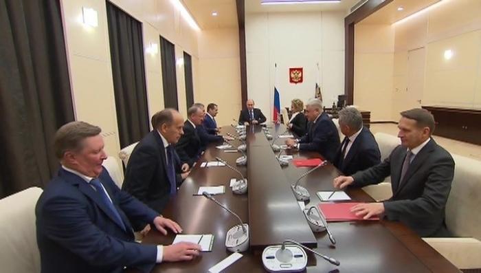 Владимир Путин обсудил с Совбезом РФ раскол РПЦ на Украине
