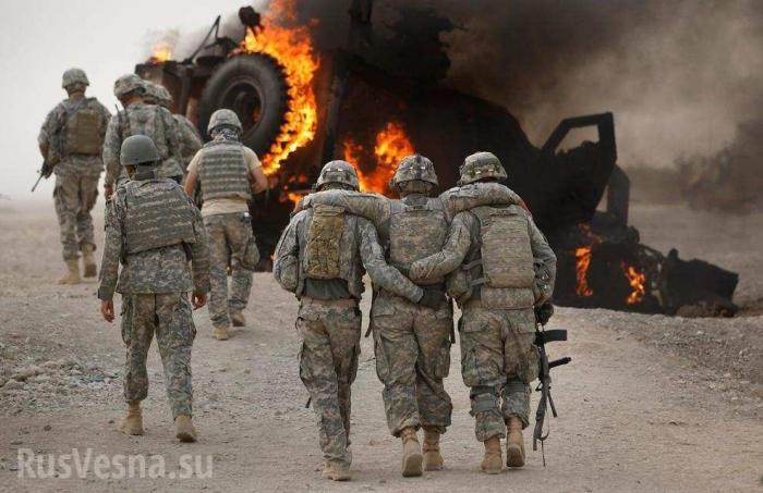 В Ракке и Дейр Зоре ИГИЛ нанёс удары по своим шефам: уничтожены военные и бронетехника США