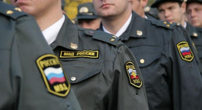Число полиции в России, США и в других странах