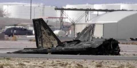 США потеряли 10% истребителей F-22 за один день