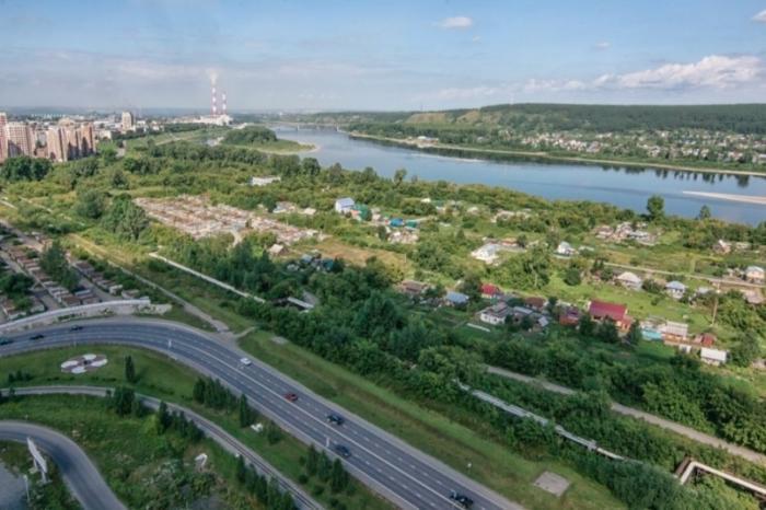 В Кемерове провалы грунта, земля уходит прямо из-под ног