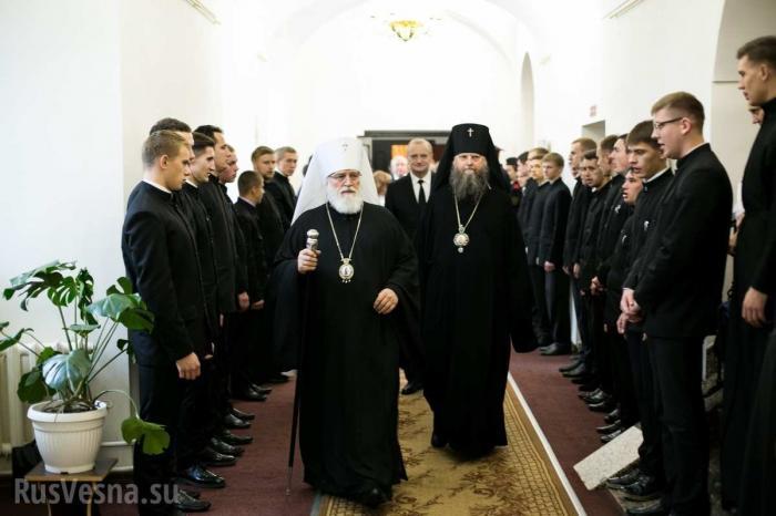Белорусская церковь резко разорвала отношения с Константинополем