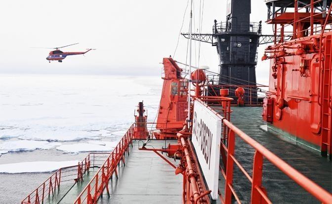 Россия ищет деньги, чтобы заменить ледокол «Ленин» на«Лидера»