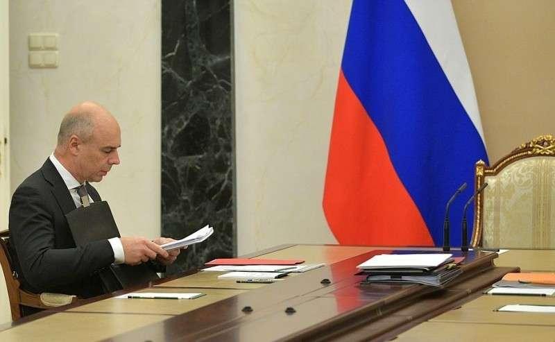 Первый заместитель Председателя Правительства– Министр финансов Антон Силуанов перед началом совещания поэкономическим вопросам.