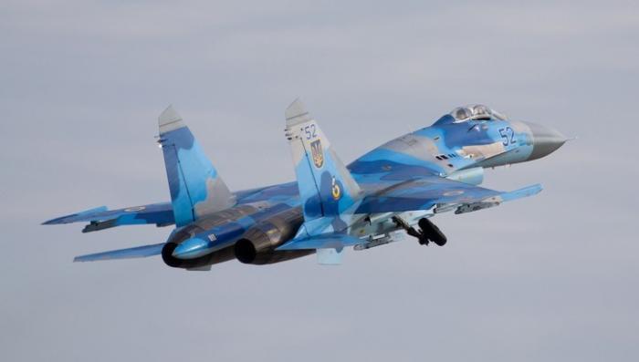 На Украине Су-27 одолел F-15 в воздушной схватке