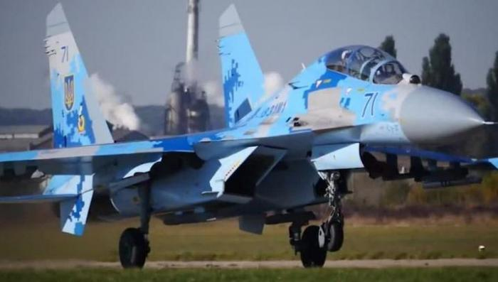 На Украине разбился Су-27. Погибли американский и украинский пилоты