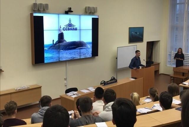 Северодвинск. Открылась школа судостроителей для старшеклассников