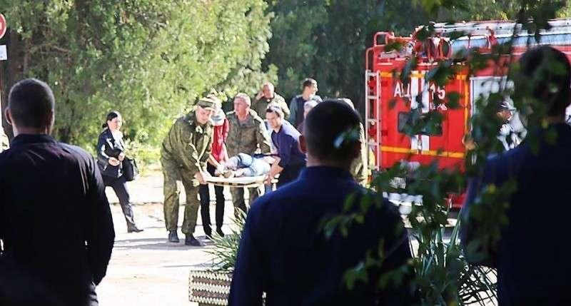 Теракт в Керчи устроили как минимум двое, заявляют очевидцы
