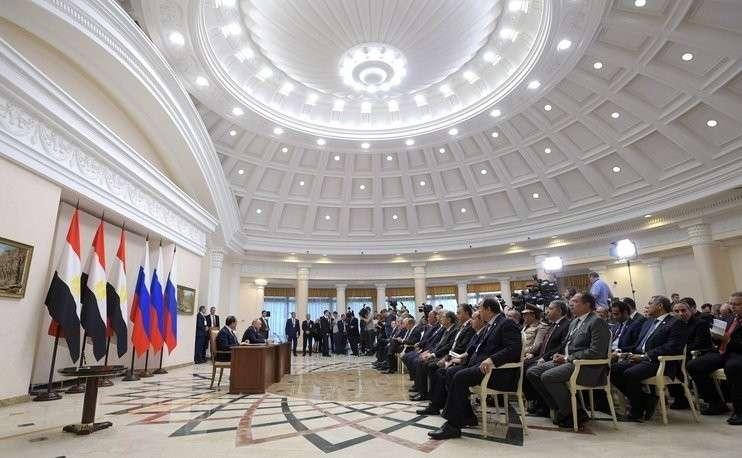 Россия и Египет подписали договор о партнерстве и стратегическом сотрудничестве