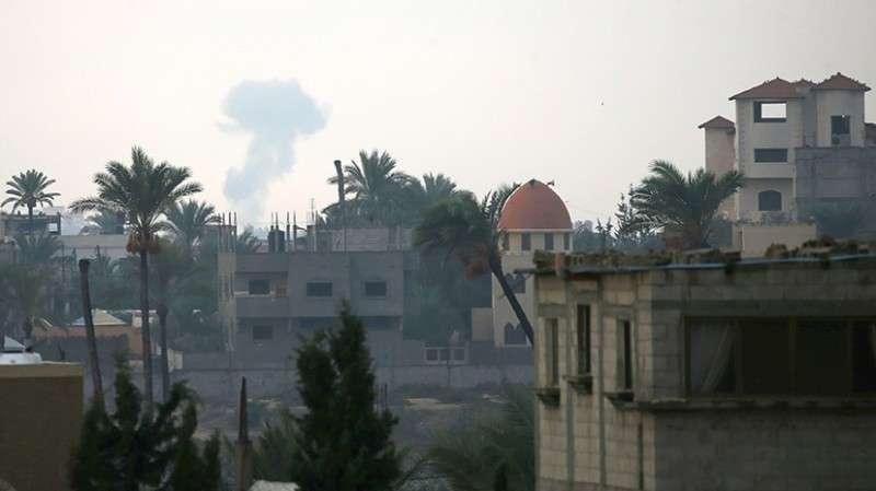 Израиль нанёс 20 ударов по палестинцам в секторе Газа