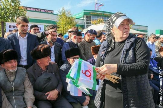 Национальный конфликт Ингушетии и Чечни. «Расшатать» Кавказ не удастся