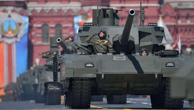 Германия грозит британским «ответом» на русский танк «Армата»
