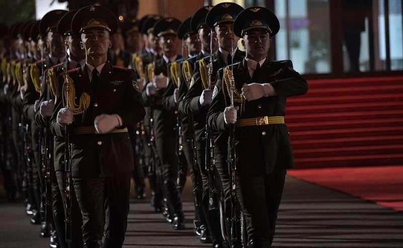 Прибытие вУзбекистан.
