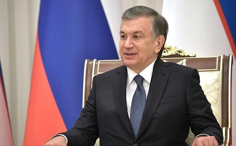 Президент Узбекистана Шавкат Мирзиёев.