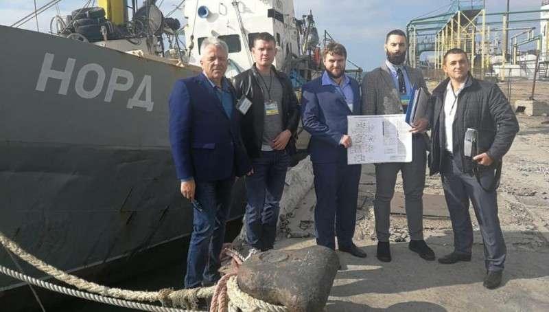 Украина присвоили себе захваченное российское судно «Норд»