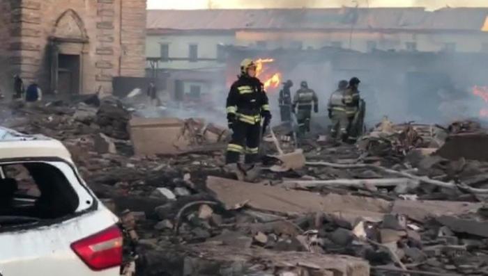 Взрыв на пиротехническом заводе «Авангард» под Петербургом разрушил треть завода