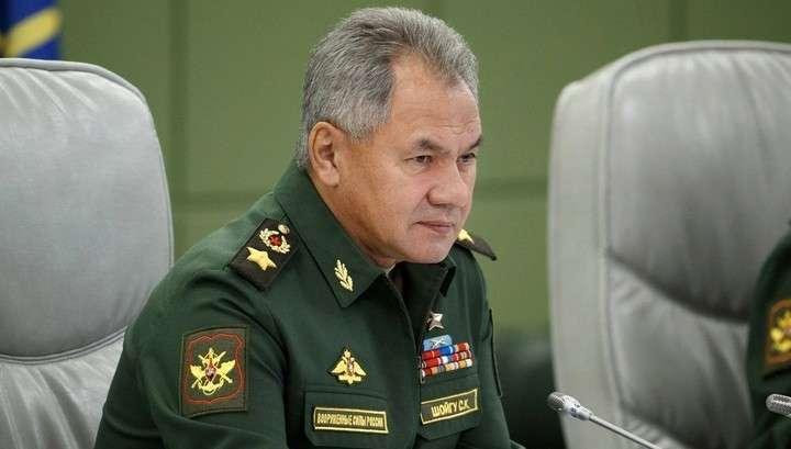 Сергей Шойгу подвёл итоги борьбы России с терроризмом в Сирии