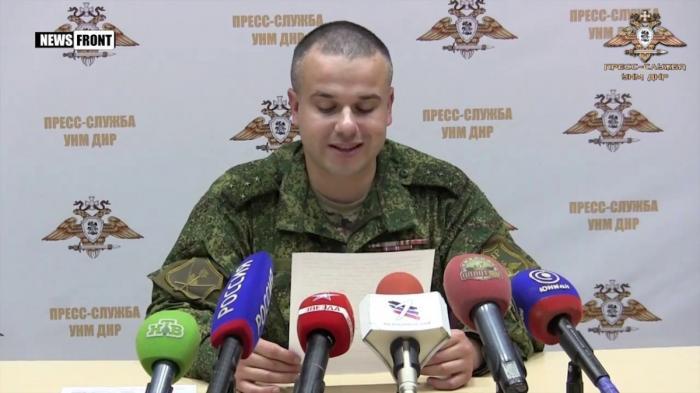 ДНР. Сводка о военной ситуации на Донбассе 20.10.2018