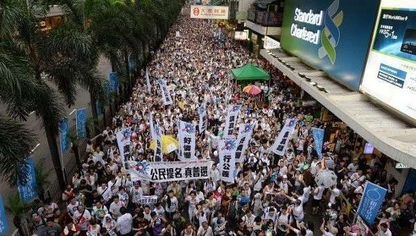 США признали, что спонсируют движение Occupy в Гонконге