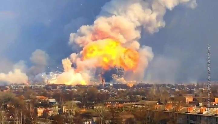 Взрывы в Ичне. Воровство боеприпасов за взрывами складов?