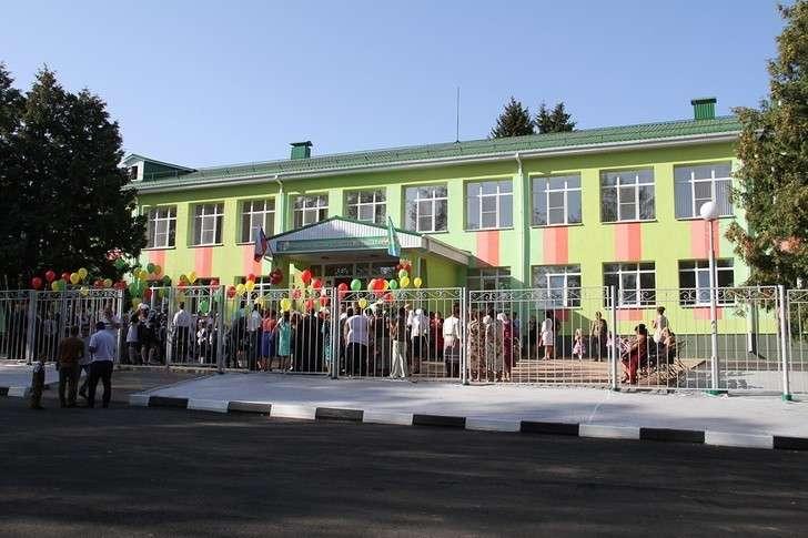 Школы сёл игородов: новые иобновлённые