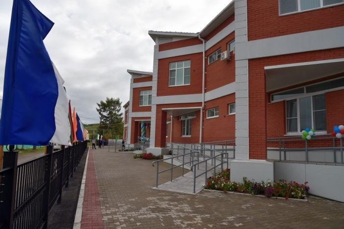 Новые школы сёл игородов регионов России