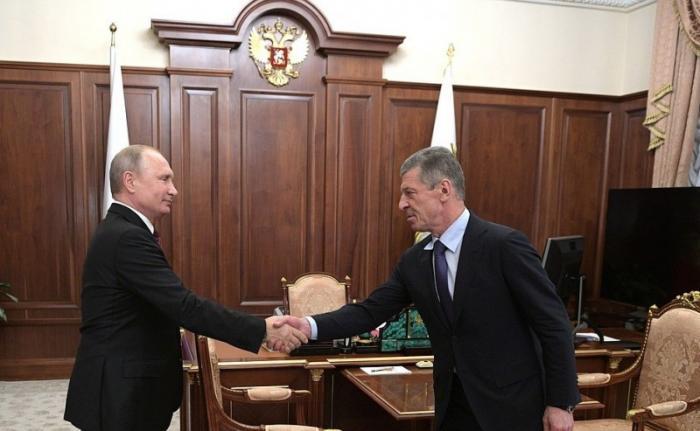 Владимир Путин и Дмитрий Козак обсудили поддержку экспорта и импортозамещения в России