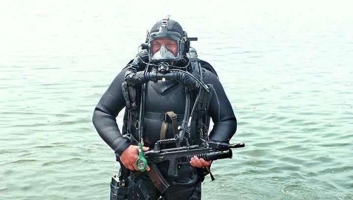 Минобороны России приняло на вооружение подводно-воздушный автомат