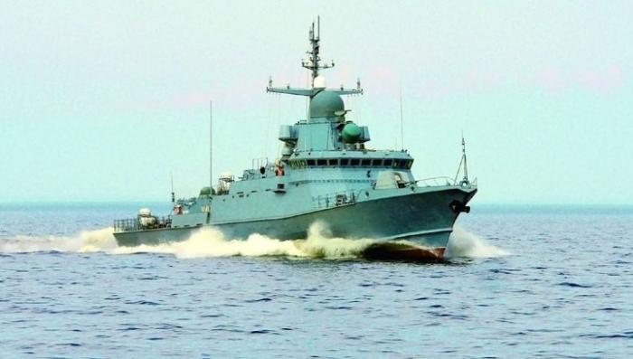 Малый ракетный корабль «Буря», построенный с применением стелс-технологий, спущен на воду