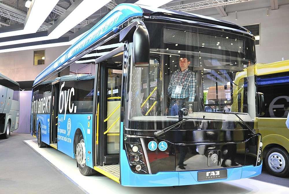 «Группа ГАЗ» представила линейку автобусов нового поколения
