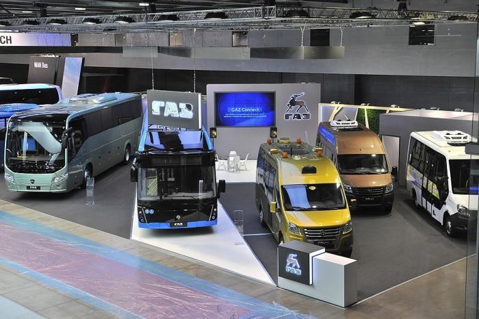 «Группа ГАЗ» представила линейку автобусов нового поколения навыставке Busworld