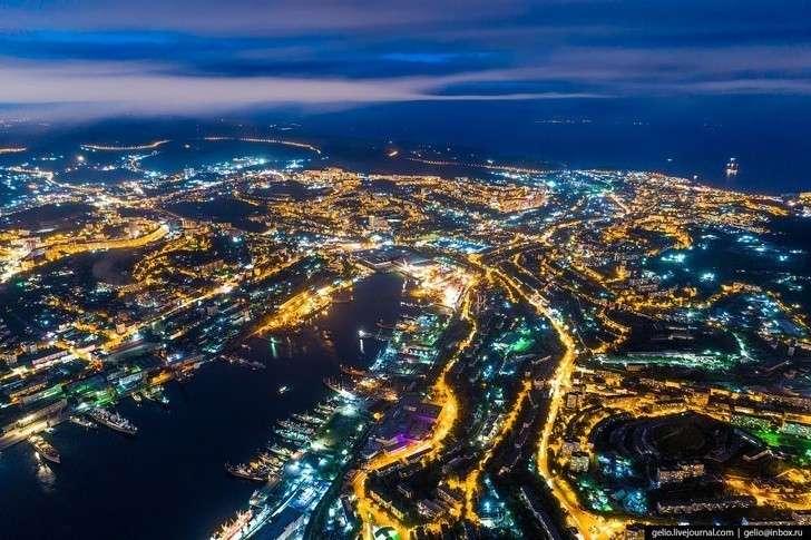 Владивосток – «тихоокеанские ворота России» с высоты. Русский Сан-Франциско