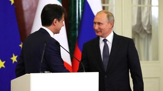 Заявления Владимира Путина и Джузеппе Конте поитогам российско-итальянских переговоров