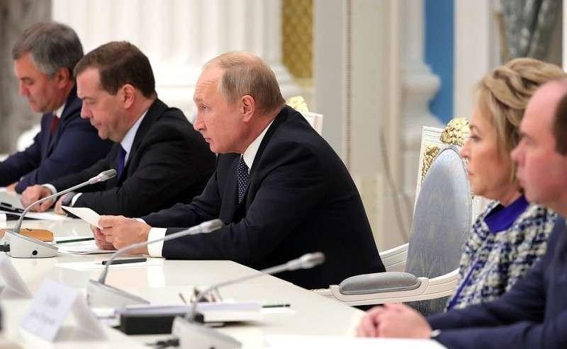 Владимир Путин провёл заседание Совета по стратегическому развитию и нацпроектам