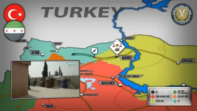 Сирия. Нападение протурецких наёмников на патруль США и курдов