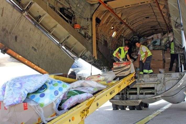 МЧС доставило вСербию груз гуманитарной помощи