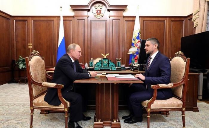 Владимир Путин назначил Александра Осипова врио губернатора Забайкальского края