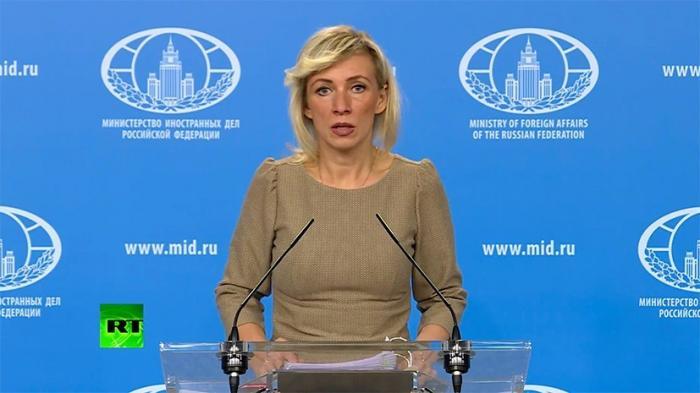 Мария Захарова проводит еженедельный брифинг по вопросам внешней политики 25.10.2018
