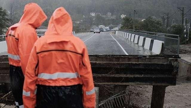 В Краснодарском крае ввели режим чрезвычайной ситуации из-за сильных дождей
