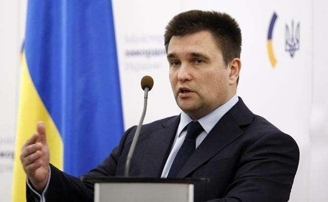 На фото: глава МИД Украины Павел Климкин