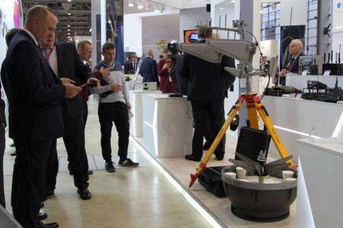 На выставке «Интерполитех-2018» представили первый автоматический комплекс борьбы с БПЛА
