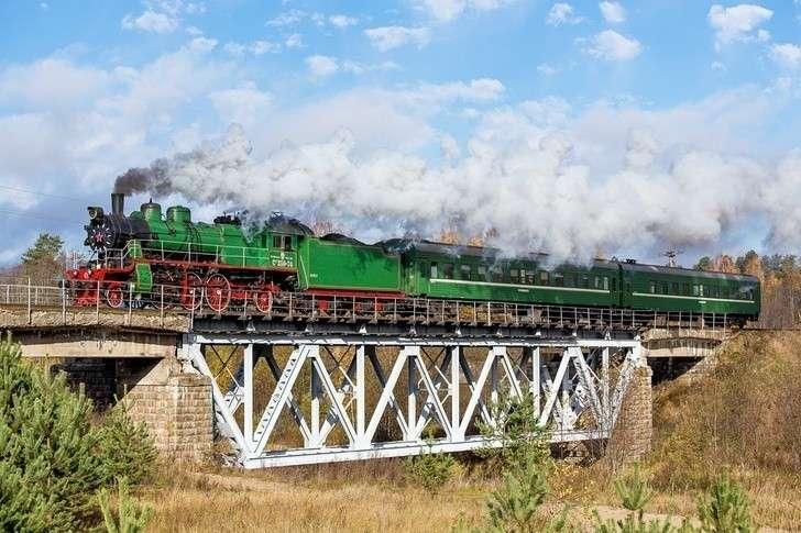 ВРоссии возобновили регулярную эксплуатацию паровозов!