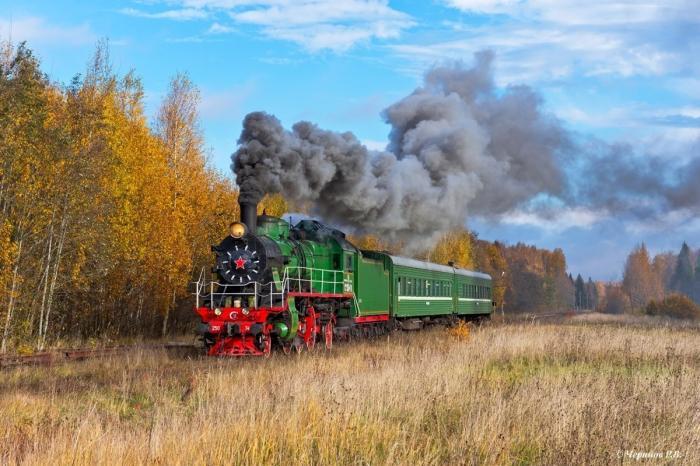 ВРоссии возобновили регулярную эксплуатацию паровозов на маршруте Бологое – Осташков